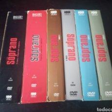 Series de TV: DVD. LOS SOPRANO. TEMPORADAS 1-6 (SOLO FALTAN LOS EPISODIOS FINALES).. Lote 185995575