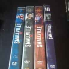 Series de TV: DVD. SMALLVILLE. TEMPORADAS 7 A 10.. Lote 185995837