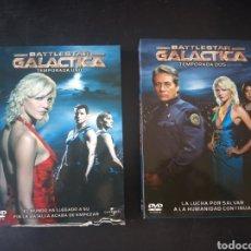 Series de TV: DVD. BATTLESTAR GALACTICA. PRIMERA Y SEGUNDA TEMPORADA.. Lote 185996148