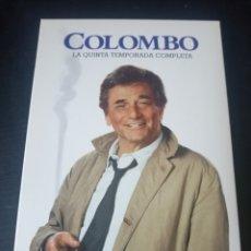 Series de TV: DVD. COLOMBO. TEMPORADA 5.. Lote 185996918