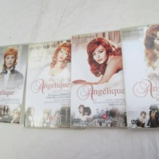 Series de TV: ANGÉLIQUE , DE COMPLETE COLLECTIE , MICHELLE MERCIER , 5 DVD . Lote 186025605