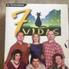 Series de TV: 7 VIDAS **SEGUNDA TEMPORADA COMPLETA**. Lote 186166816