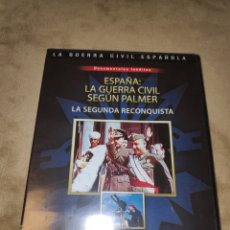 Series de TV: ESPAÑA : LA GUERRA CIVIL SEGÚN PALMER - LA SEGUNDA RECONQUISTA - DVD. Lote 186180632