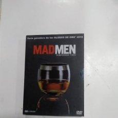 Séries de TV: MAD MEN - TEMPORADA TRES COMPLETA - TRECE EPISODIOS ( + EXTRAS ) EN CUATRO DVD. Lote 187176800