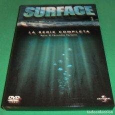 Series de TV: SURFACE - AGUA: EL ESCONDITE PERFECTO LA SERIE COMPLETA (UNA SOLA VISUALIZACIÓN) PERFECTO ESTADO!!!. Lote 188473648