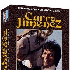 Séries TV: CURRO JIMENEZ - SERIE TVE COMPLETA RESTAURADA - 14 DVD´S. Lote 188598412