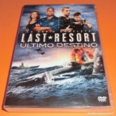 Séries TV: DVD LAST RESORT : ULTIMO DESTINO PRIMERA TEMPORADA 1 - (UNA SOLA VISUALIZACIÓN) PERFECTO ESTADO!!!. Lote 188640637