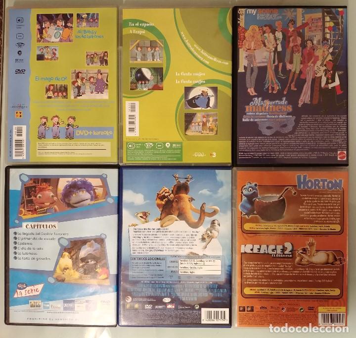 Series de TV: Pack Lote 6 DVDs dibujos Las tres mellizas, Ice Age 2, My Scene, Lunnis, Horton - Foto 2 - 96719655