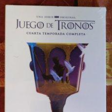 Series de TV: DVD JUEGO DE TRONOS - 4 TEMPORADA COMPLETA (NUEVO, AÚN PRECINTADO). Lote 189488566