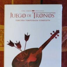 Series de TV: DVD JUEGO DE TRONOS - 3 TEMPORADA COMPLETA (TOTALMENTE NUEVO). Lote 189488618