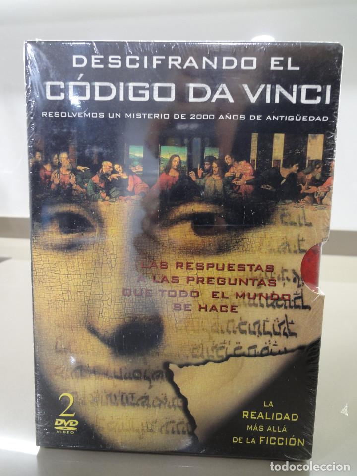 DVD. SERIE DOCUMENTAL DESCIFRANDO EL CODIGO DA VINCI + CD MUSICA CHILL OUT. PRECINTADO (Series TV en DVD)