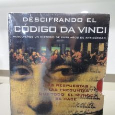Series de TV: DVD. SERIE DOCUMENTAL DESCIFRANDO EL CODIGO DA VINCI + CD MUSICA CHILL OUT. PRECINTADO. Lote 189506681