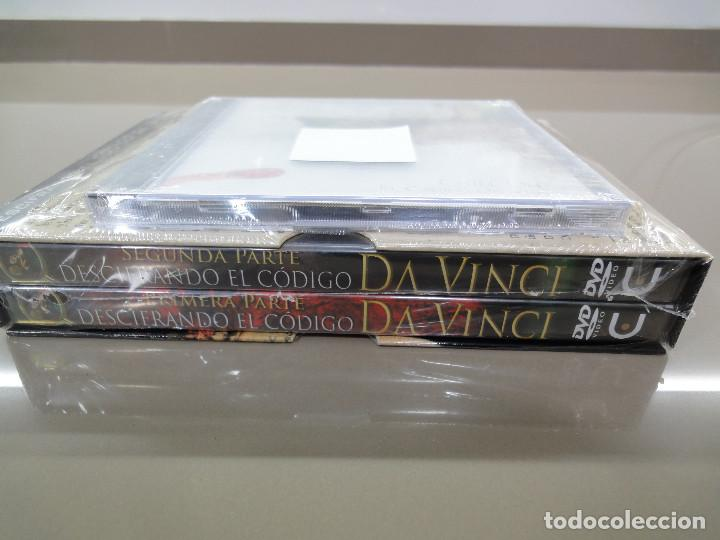Series de TV: DVD. Serie documental Descifrando el Codigo Da Vinci + CD Musica Chill Out. Precintado - Foto 4 - 189506681
