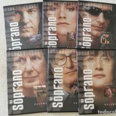 Series de TV: LOS SOPRANO TEMPORADA 1 COMPLETA 6 DVD. Lote 189604122