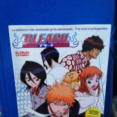 Series de TV: BLEACH ( 5 DVD ) EDICIÓN DELUXE CAPÍTULOS 1-20. Lote 189975897