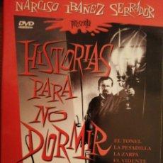 Series de TV: HISTORIAS PARA NO DORMIR. NARCISO IBÁÑEZ SERRADOR.. Lote 190078478