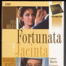 Series de TV: FORTUNATA Y JACINTA, SERIE TVE COMPLETA EN 3 DVDS, ENVÍO GRATIS, NUEVA PRECINTADA. Lote 289833918