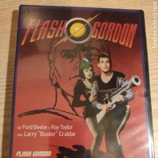 Series de TV: FLASH GORDON CONQUISTA EL UNIVERSO . DVD 12 EPISODIOS + EXTRAS - SERIE DEL 1940 . PRECINTADO. Lote 190521147