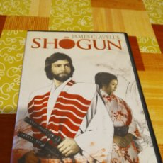 Séries TV: DVD - SHOGUN - JAMES CLAVELL'S ( COMPLETA). Lote 190531116