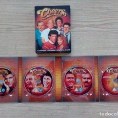 Series de TV: CHEERS - TEMPORADAS 1-2-3-4 - 16 DVD. Lote 190755711