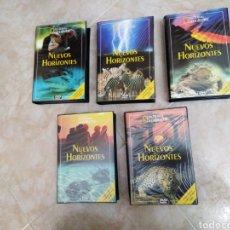 Series de TV: NATIONAL GEOGRAPHIC NUEVOS HORIZONTES ( 5 CAJAS ) 20 DVD EN TOTAL EDITORIAL PLANETA. Lote 190780580
