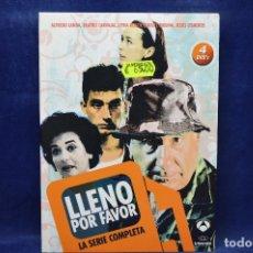 Séries de TV: LLENO POR FAVOR - DVD - LA SERIE COMPLETA. Lote 190811637