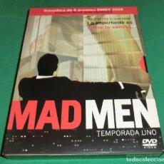 Series de TV: (4) DVD´S MAD MEN PRIMERA TEMPORADA 1 (UNA SOLA VISUALIZACIÓN) PERFECTO ESTADO!!. Lote 190902706