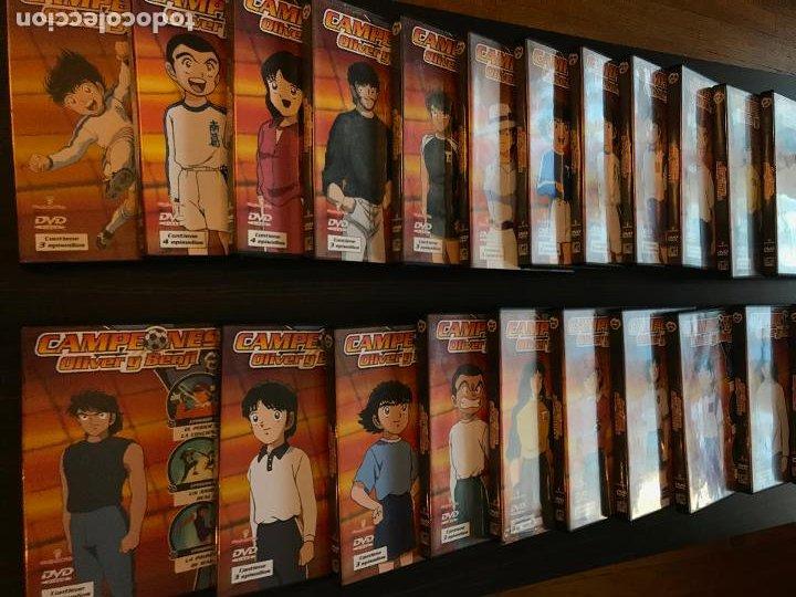 OLIVER Y BENJI - CAMPEONES - DEL Nº 1 AL 23 EXCEPTO EL DVD 8. (Series TV en DVD)