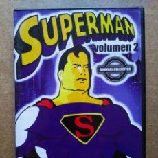 Series de TV: DVD SUPERMAN VOLUMEN 2 ORIGINAL COLLECTION (CIAE, 2005). INCLUYE 5 EPISODIOS (VER FOTO ADICIONAL).. Lote 191067762