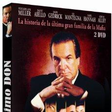 Series de TV: EL ULTIMO DON 2 [DVD MINISERIE NUEVA Y PRECINTADA . Lote 191092180
