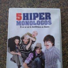 Series de TV: DVD -- 5 HIPER MONOLOGOS -- . Lote 191103042