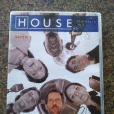 Series de TV: DVD -- HOUSE -- TEMPORADA 1 - DISCO 1 -- EPISODIO PILOTO Y PATERNIDAD -- . Lote 191103177