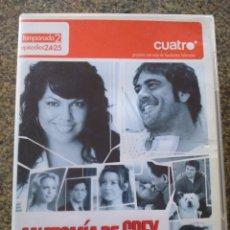 Series de TV: DVD -- ANATOMIA DE GREY -- TEMPORADA 2 EPISODIOS 24-25 -- . Lote 191103252