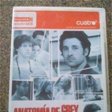 Series de TV: DVD -- ANOTOMIA DE GREY -- TEMPORADA 2 EPISODIOS 14-15 --. Lote 191103348