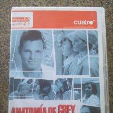 Series de TV: DVD -- ANOTOMIA DE GREY -- TEMPORADA 2 EPISODIOS 8-9 --. Lote 191103392