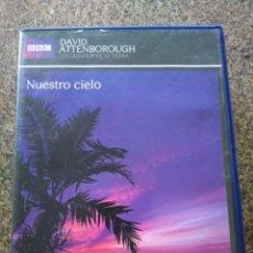 Series de TV: DVD -- NUESTRO CIELO -- DAVID ATTENBOROUGH -- BBC --. Lote 191103788