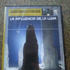 Series de TV: DVD -- LA INFLUENCIA DE LA LUNA -- DOCUMENTALES --. Lote 191103890