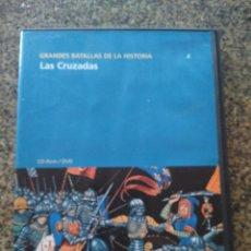 Series de TV: DVD -- GRANDES BATALLAS DE LA HISTORIA -- LAS CRUZADAS --. Lote 191104211