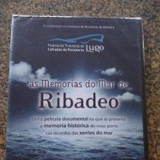 Series de TV: DVD -- AS MEMORIAS DO MAR DE RIBADEO -- PELICULA DOCUMENTAL -- . Lote 191104518