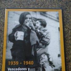 Series de TV: DVD -- 1939-1940 -- VENCEDORES Y VENCIDOS -- LOS AÑOS DEL NODO -- . Lote 191104696