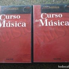 Series de TV: DVD -- CURSO INTERACTIVO DE MUSICA -- MEDIOS DE LA MUSICA Y ELEMENTOS DE LA MUSICA -- . Lote 191104988