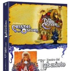 Séries TV: !!! DENTRO DEL LABERINTO + CRISTAL OSCURO !!! PACK PRECINTADO *** EDIC. ESPAÑOLA. Lote 191244556