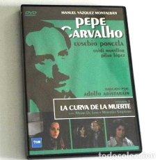 Series de TV: DVD PEPE CARVALHO 4 SERIE TELEVISIÓN DETECTIVE CURVA DE LA MUERTE SUSPENSE VÁZQUEZ MONTALBÁN PONCELA. Lote 191622205