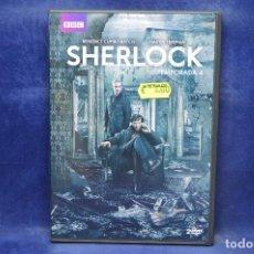 Series de TV: SHERLOCK - TEMPORADA 4 - DVD . Lote 191768603
