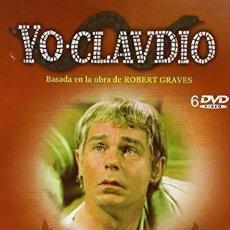 Series de TV: YO CLAUDIO - SERIE TV BBC - PACK DE 6 DVDS RECOPILADOS EN ESTUCHE EXTERIOR DE CARTÓN. Lote 191865591
