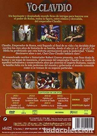 Series de TV: YO CLAUDIO - SERIE TV BBC - PACK DE 6 DVDS RECOPILADOS EN ESTUCHE EXTERIOR DE CARTÓN - Foto 2 - 191865591