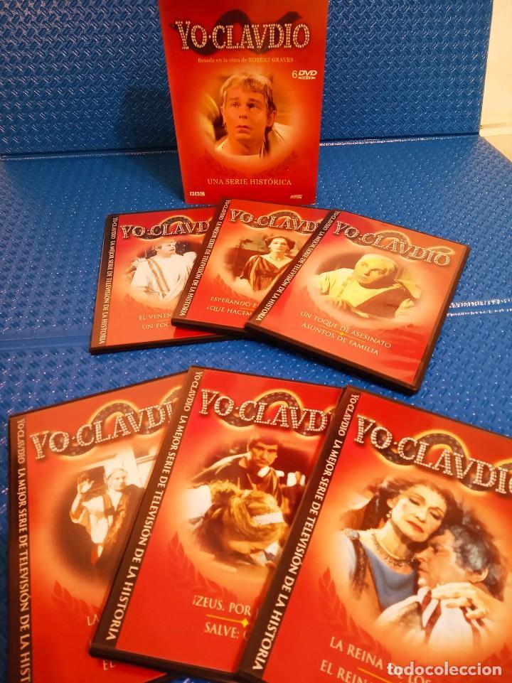 Series de TV: YO CLAUDIO - SERIE TV BBC - PACK DE 6 DVDS RECOPILADOS EN ESTUCHE EXTERIOR DE CARTÓN - Foto 3 - 191865591