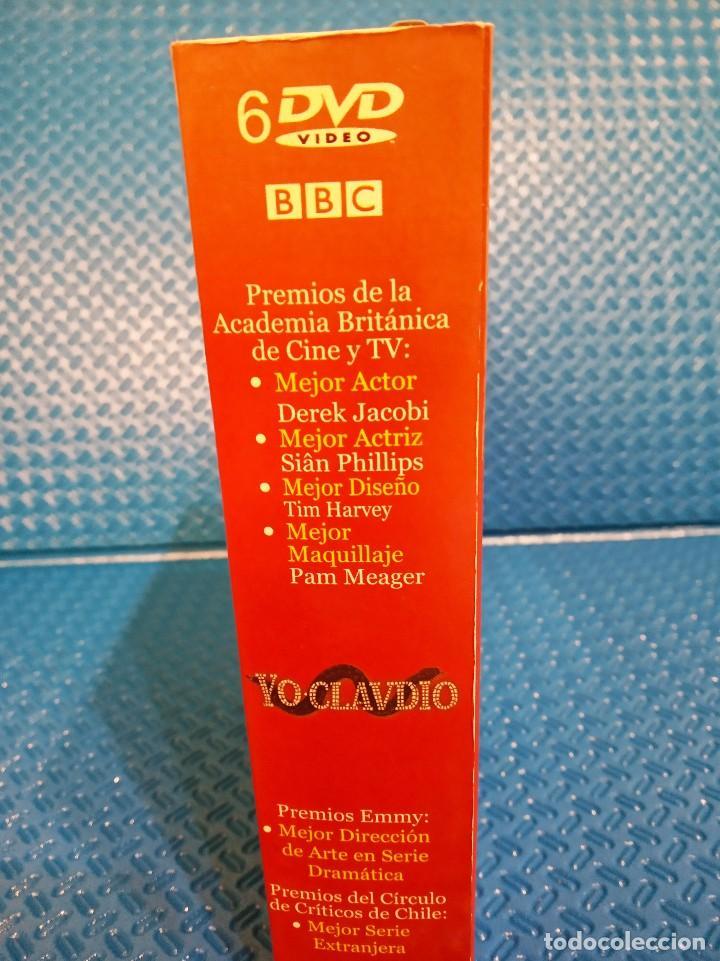 Series de TV: YO CLAUDIO - SERIE TV BBC - PACK DE 6 DVDS RECOPILADOS EN ESTUCHE EXTERIOR DE CARTÓN - Foto 4 - 191865591