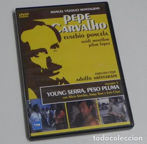 PEPE CARVALHO 1 YOUNG SERRA PESO PLUMA MANUEL VÁZQUEZ MONTALBÁN DVD SUSPENSE SERIE DE TV JORGE SANZ (Series TV en DVD)