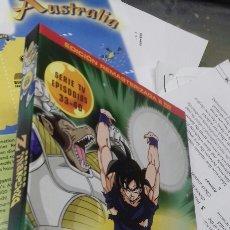 Series de TV: DRAGON BALL Z. EDICION REMASTERIZADA. SIN CENSURA. 2 DVD. SELECTA VISION. 33-40. Lote 191980737